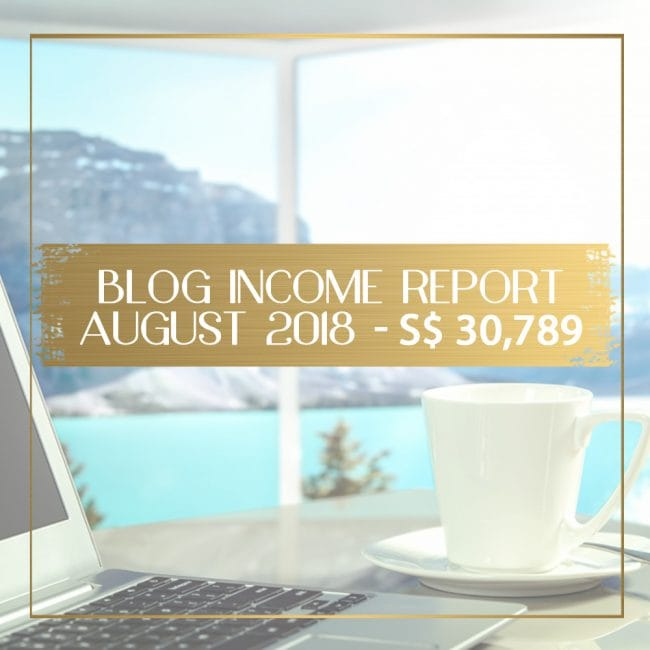 Blog Income Report for August 2018 feature