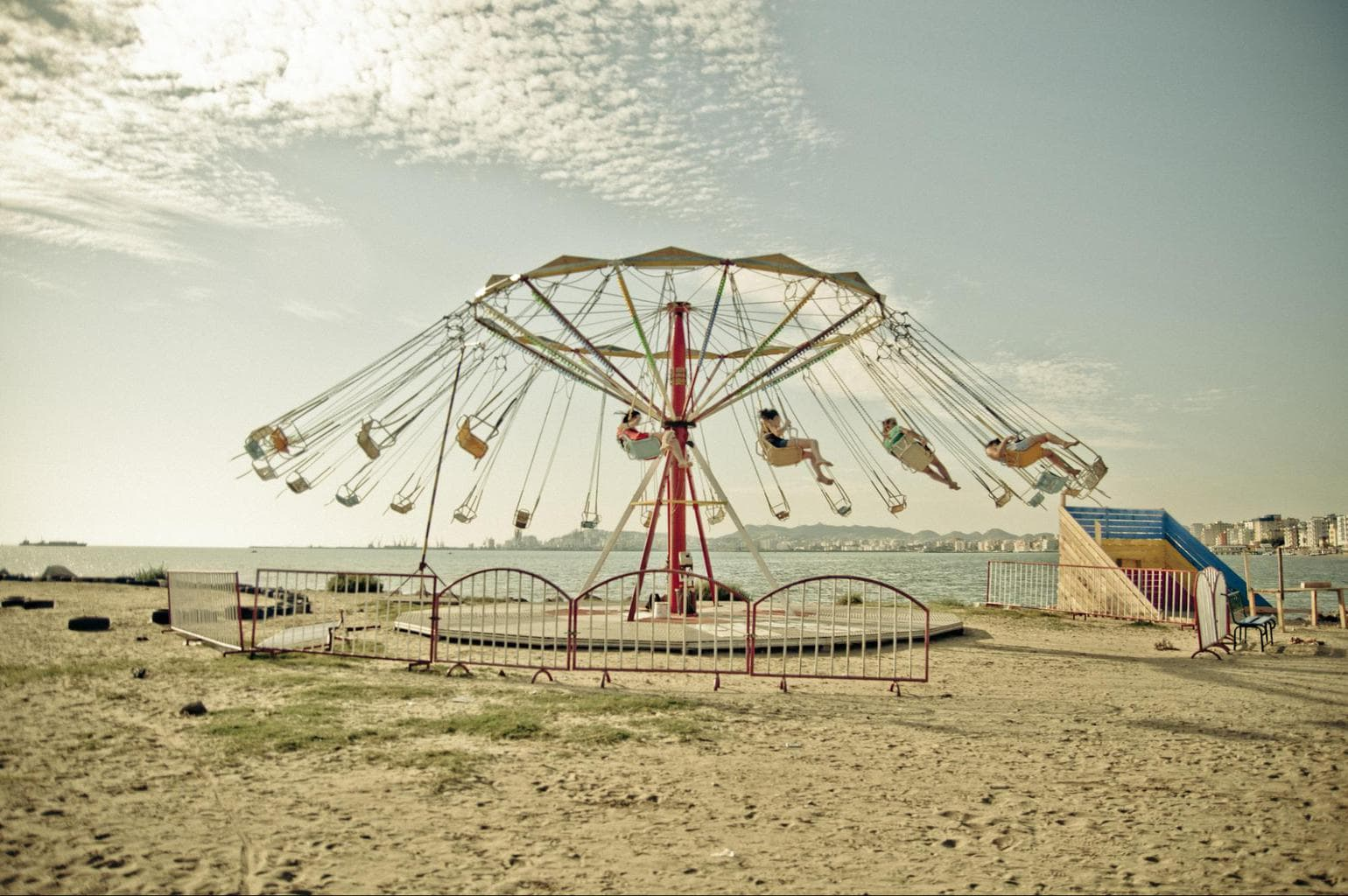 Durres Beach - Photo by Marco Fieber CC BY-ND-NC 2.0