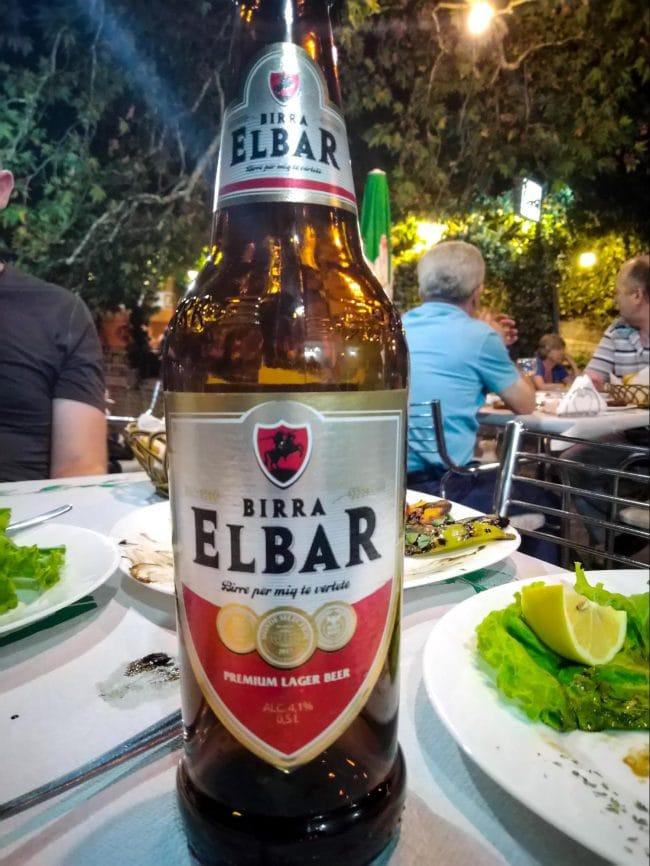Elbar Albanian beer