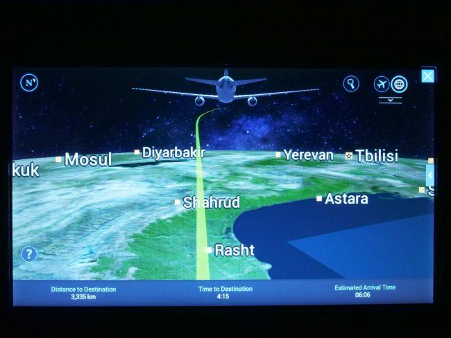 Flight progress on Swiss 01