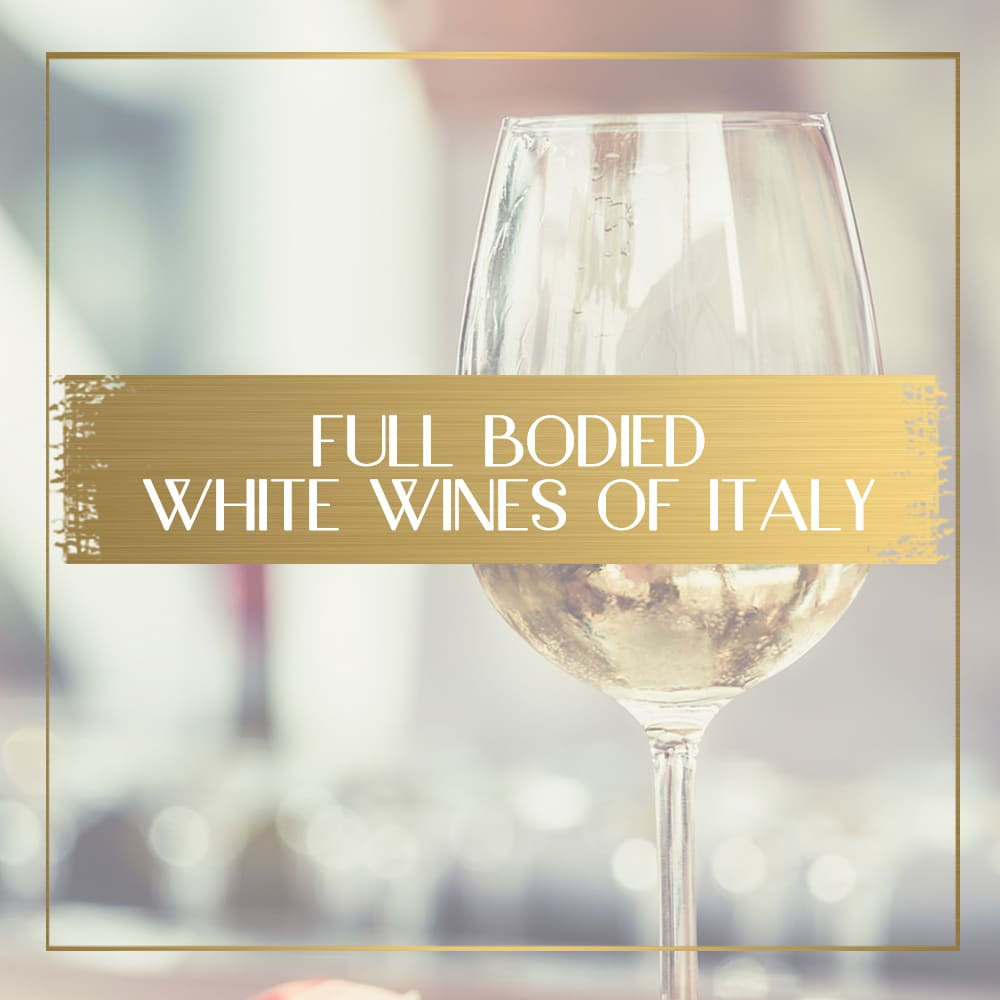 Full bodies white wines of italy feature