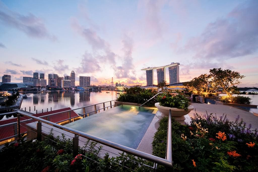 Fullerton Bay Singapore views