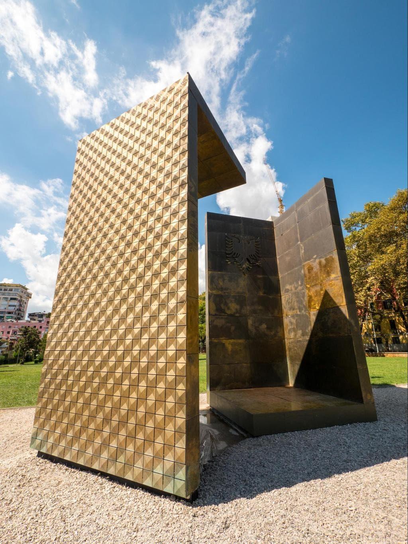 Independence Memorial in Tirana