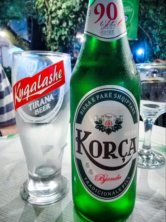 Korca Albanian beer