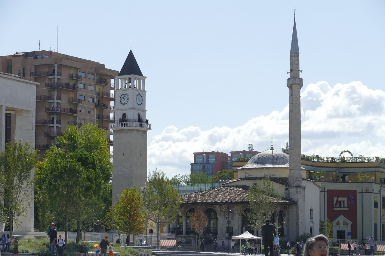 One of the few religious monuments to survive in Albania