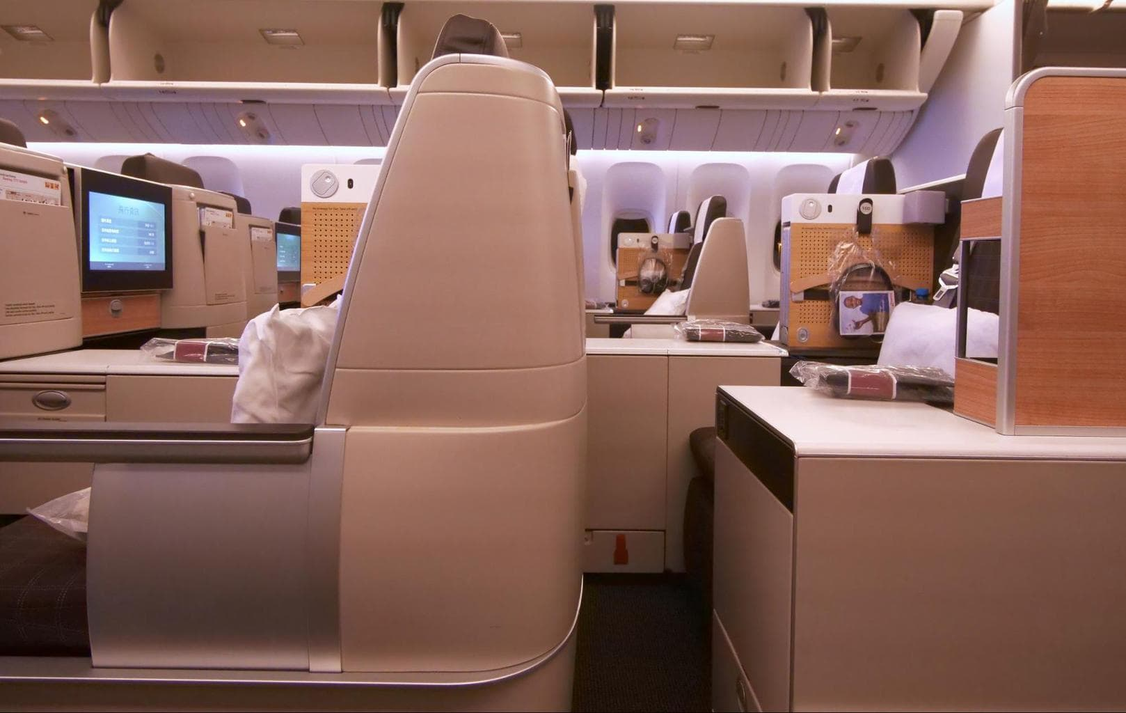Privacy on Swiss Business Class