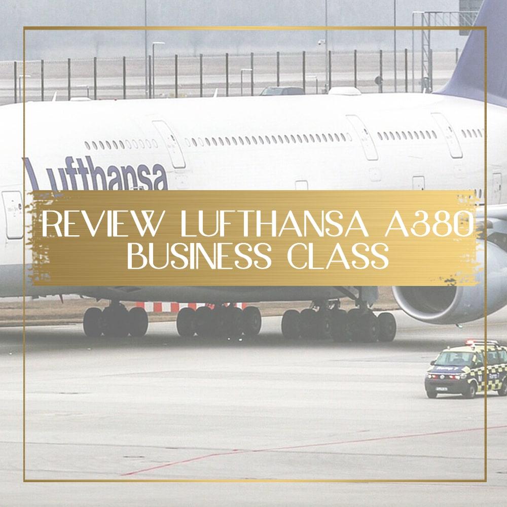 Review of Lufthansa A380 Business Class Barcelona-Frankfurt