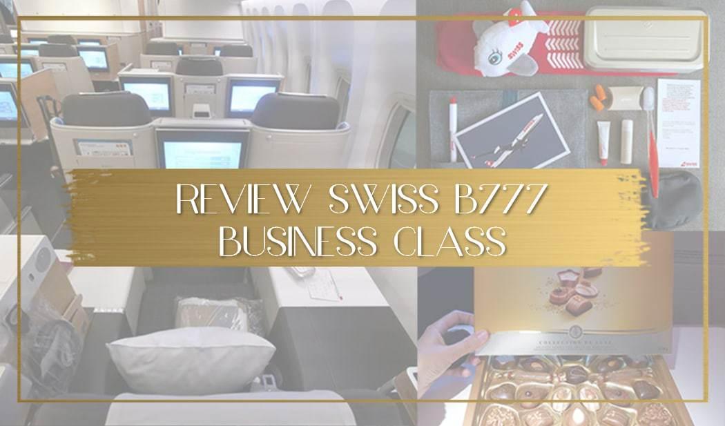 Swiss Business Class B777 review main