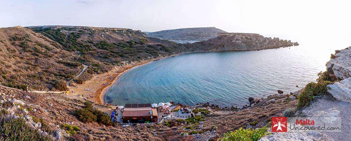 Ghajn Tuffieha Beach Malta