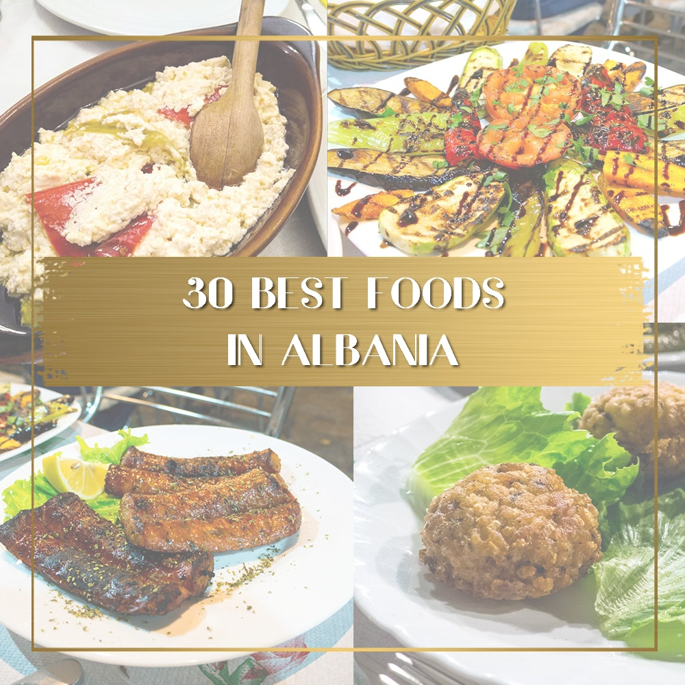 Best Albanian Food features