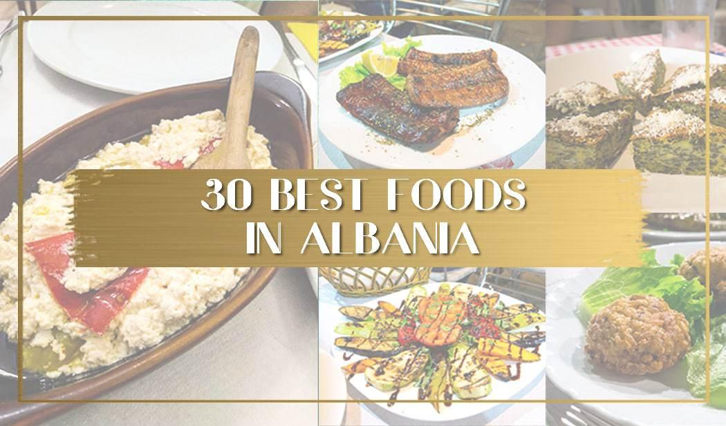 Best Albanian Food main