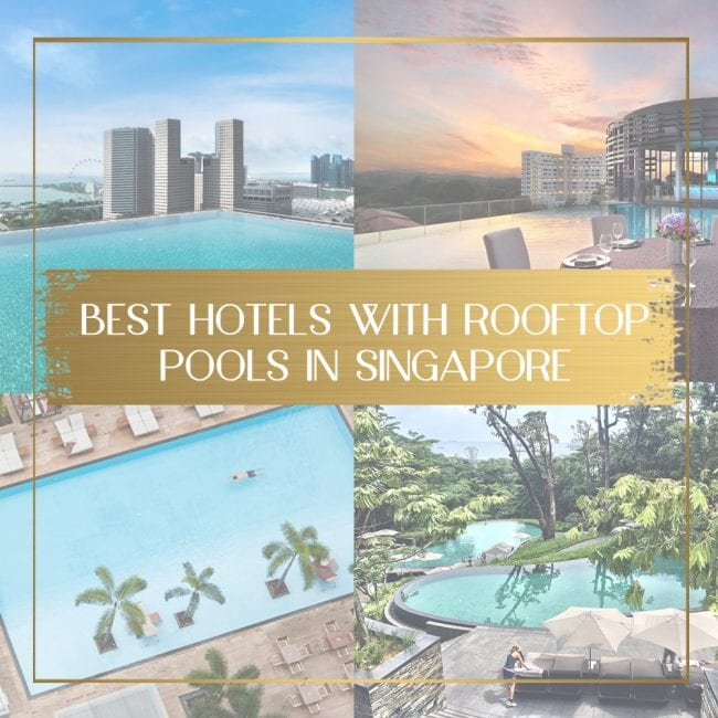 Best hotels with rooftop pools in Singapore feature