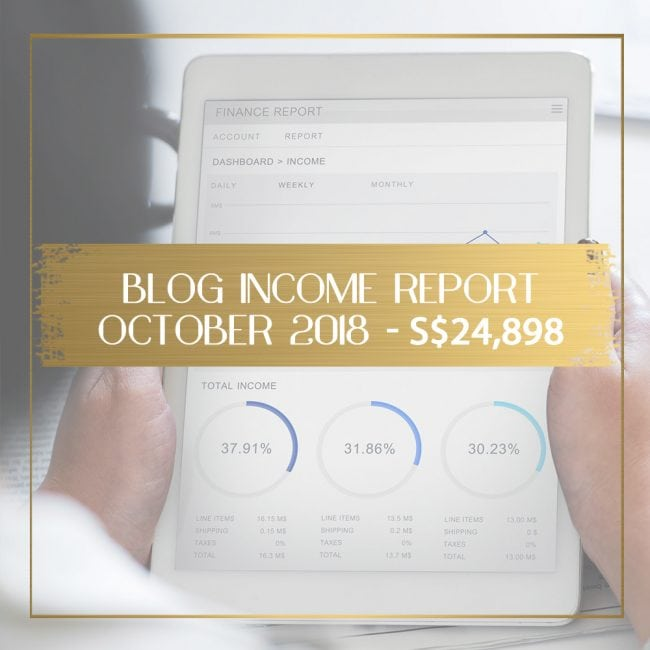 Blog Income Report for October 2018 feature