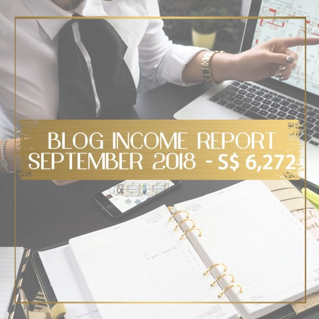 Blog income report for September 2018 feature