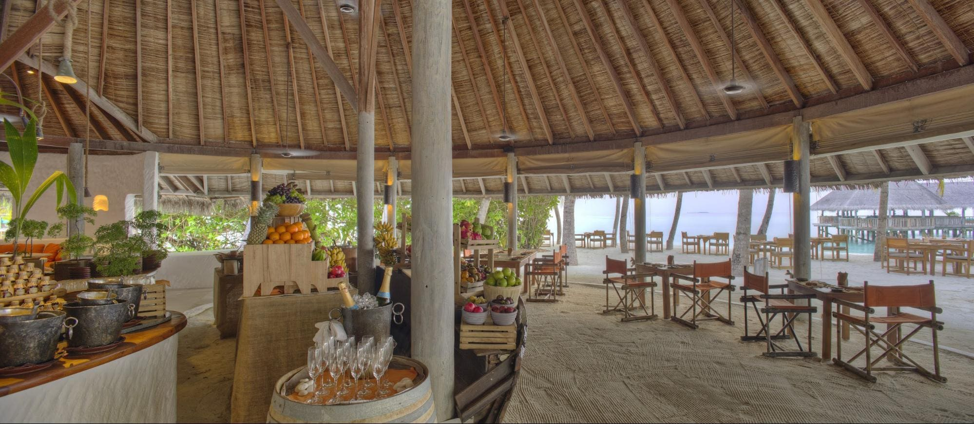 Breakfast at Gili Lankanfushi - Courtesy of Gili Lankanfushi