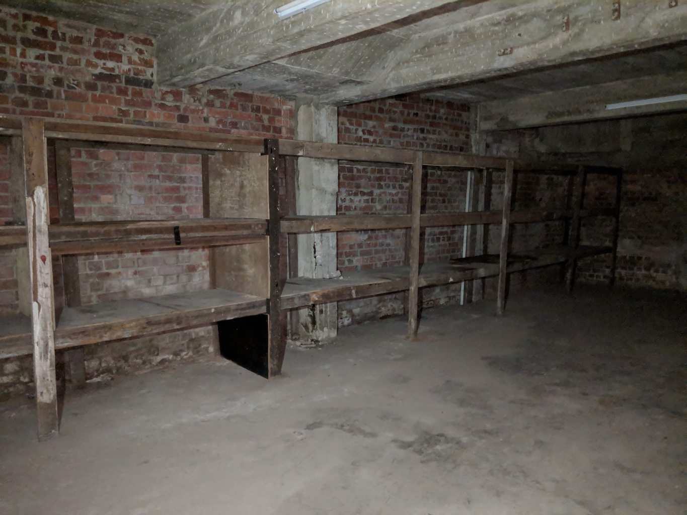 Inside Tiong Bahru Air Raid Shelter