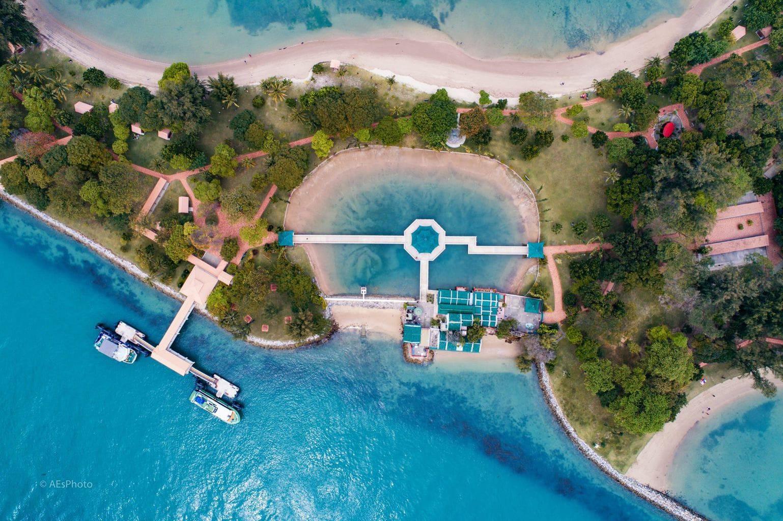 Kusu Islands. Photo courtesy of Allan Espolong