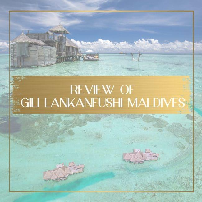 Review of Gili Lankanfushi feature