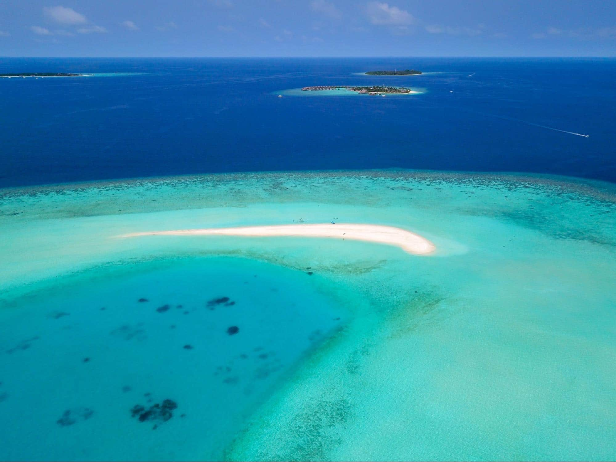 Sandbank at Milaidhoo