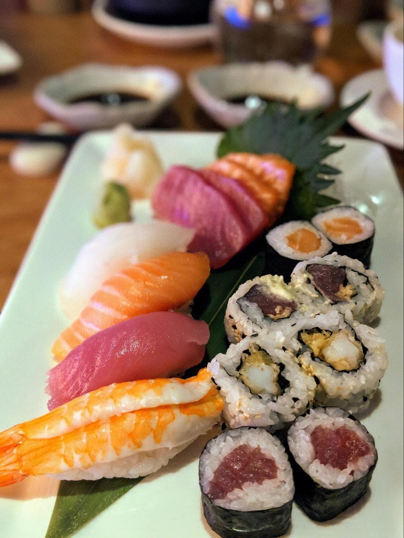 Sushi and sashimi from Umami