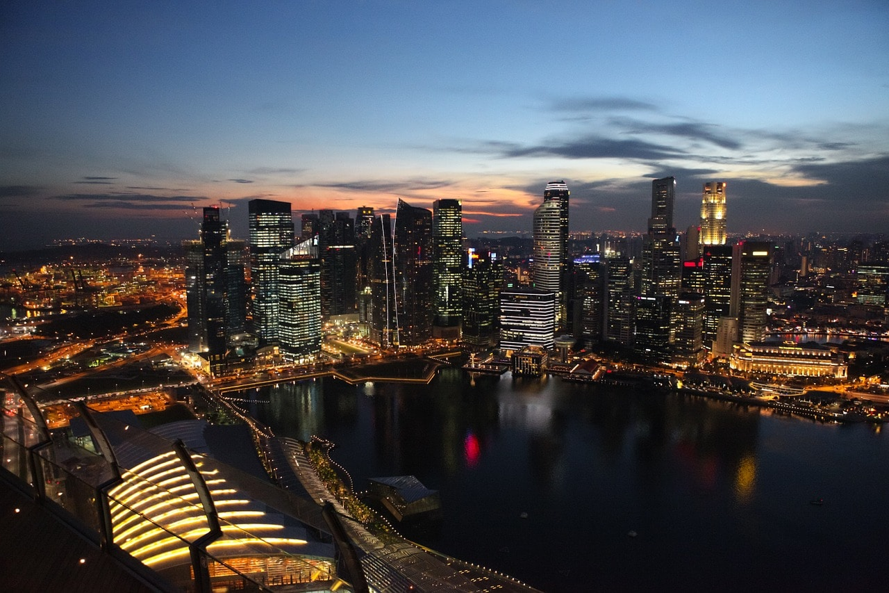 View of Skypark from Ce La Vie