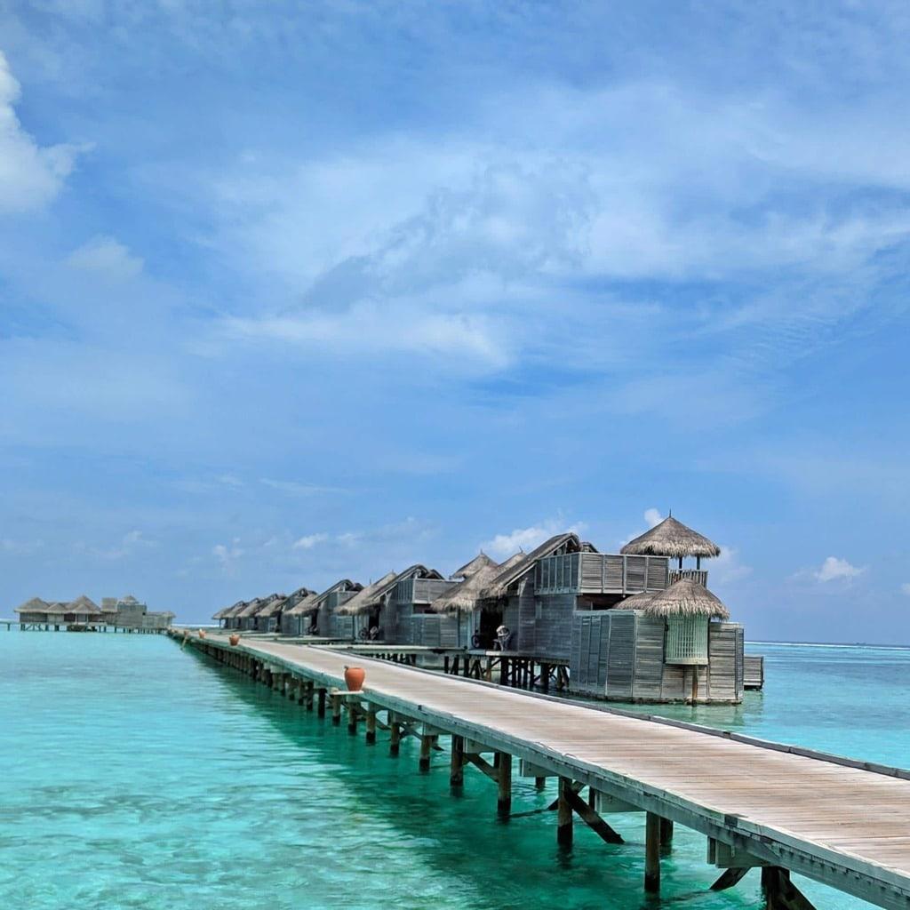 Water villas at Gili Lankanfushi