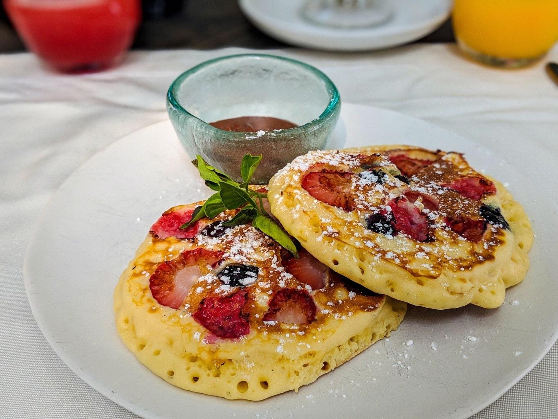 Amazing breakfast at Soneva Fushi