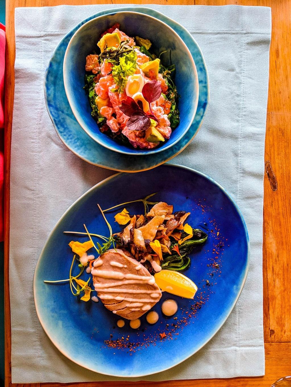 Fresh fish at Soneva Fushi