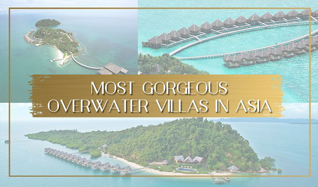 60 Gorgeous Overwater Bungalows In Asia Once In A Lifetime Journey