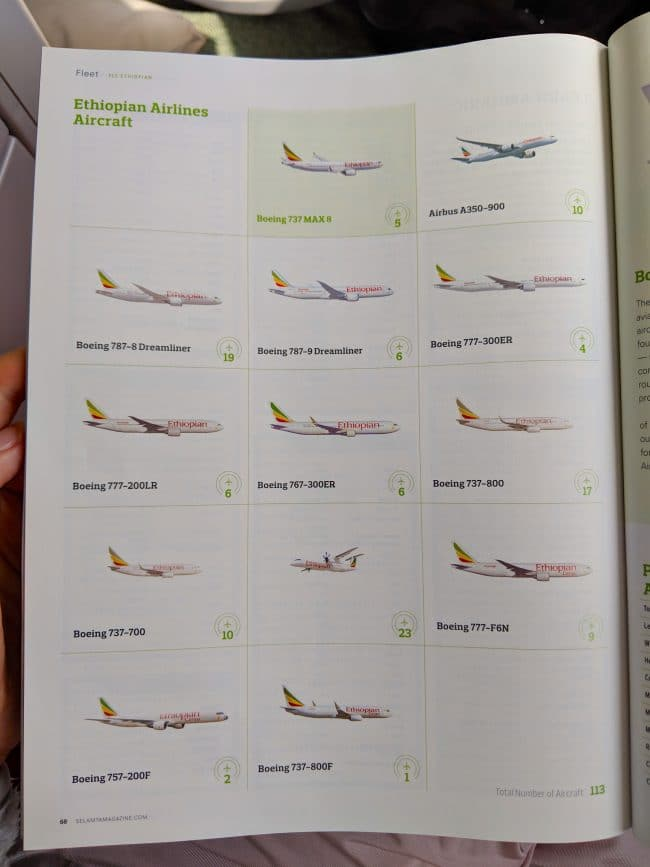 New Ethiopian Airlines Boeing 787 11