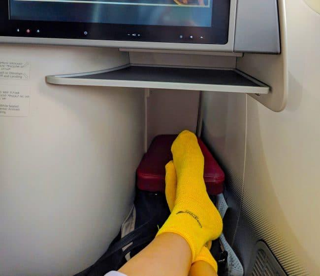 New Ethiopian Airlines Boeing 787 leg room