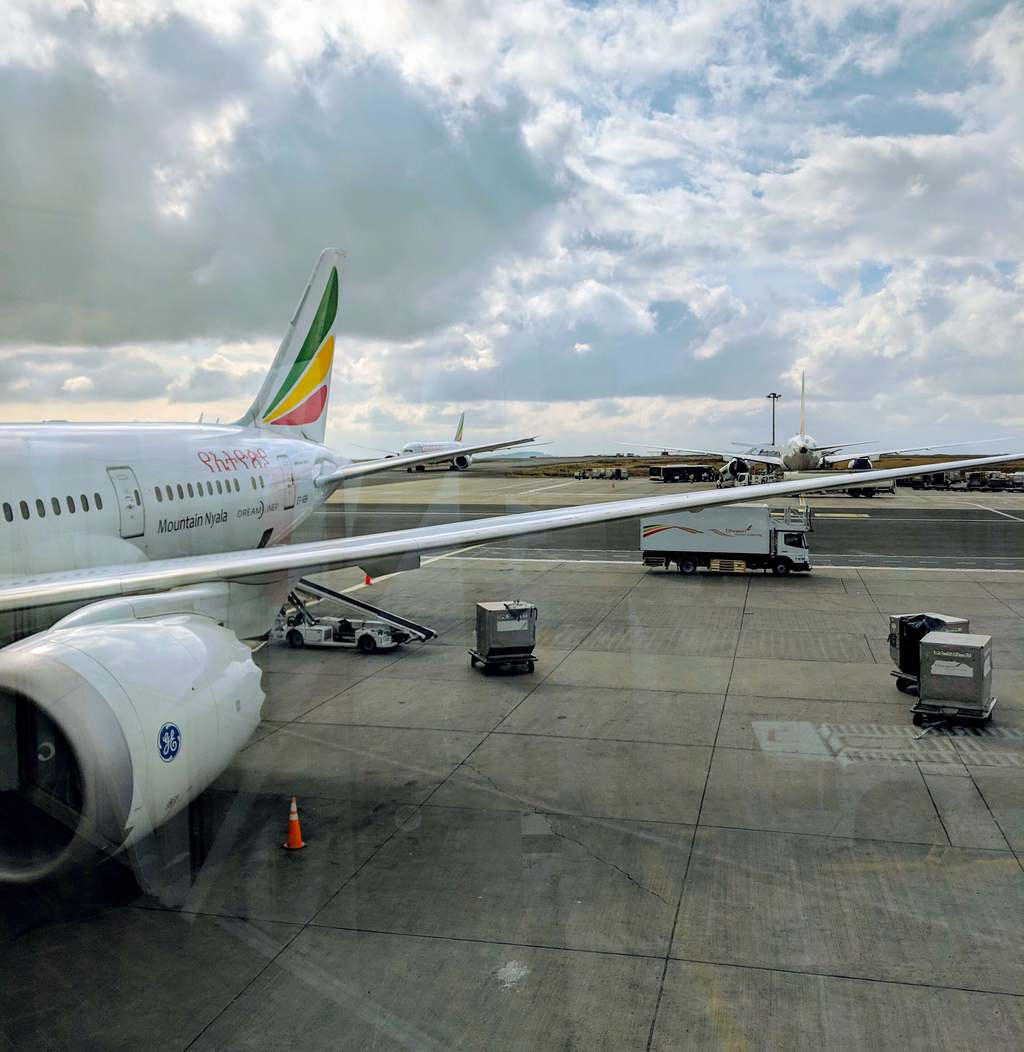New Ethiopian Airlines Boeing 787