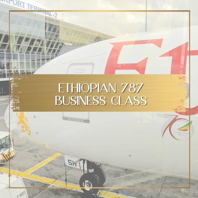 Review of Ethiopian Airlines Business Class 787 feature