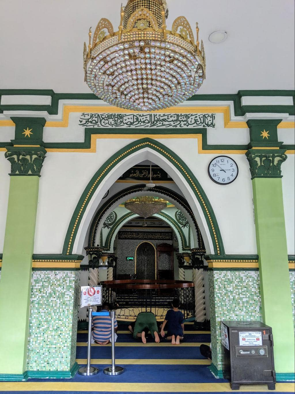 Abdul Gafoor Mosque interior