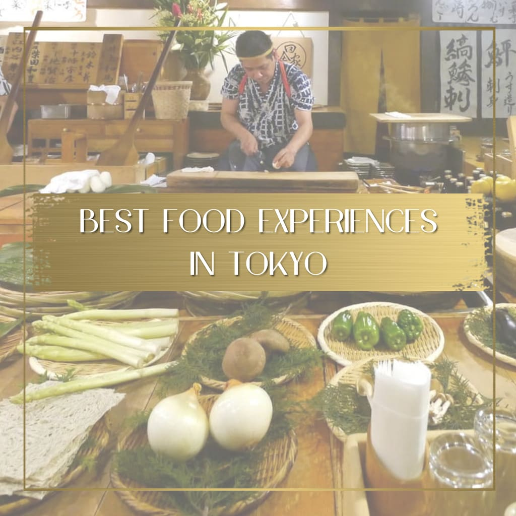 Best food experiences in Tokyo feature
