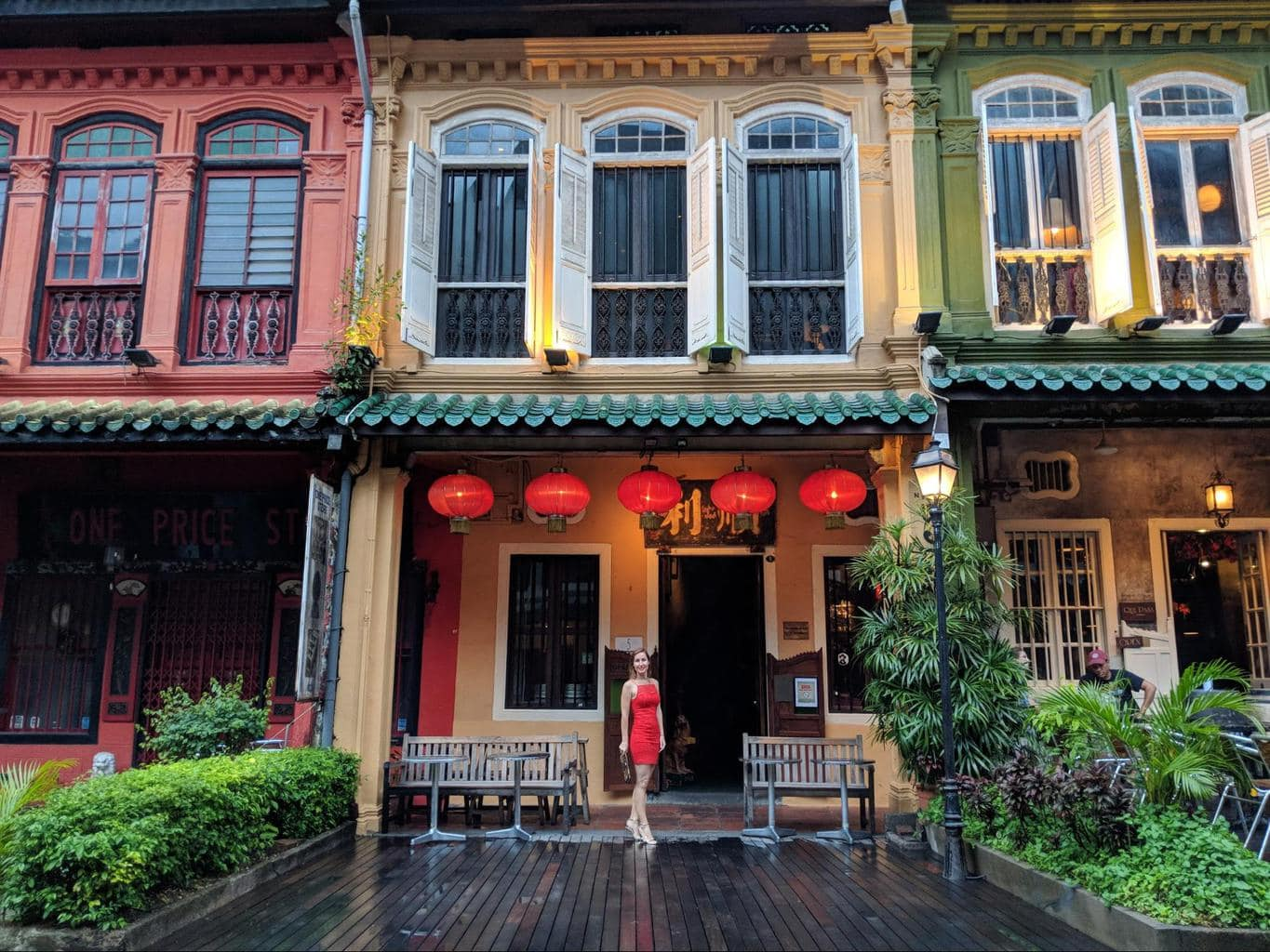 Emerald Hill in Singapore