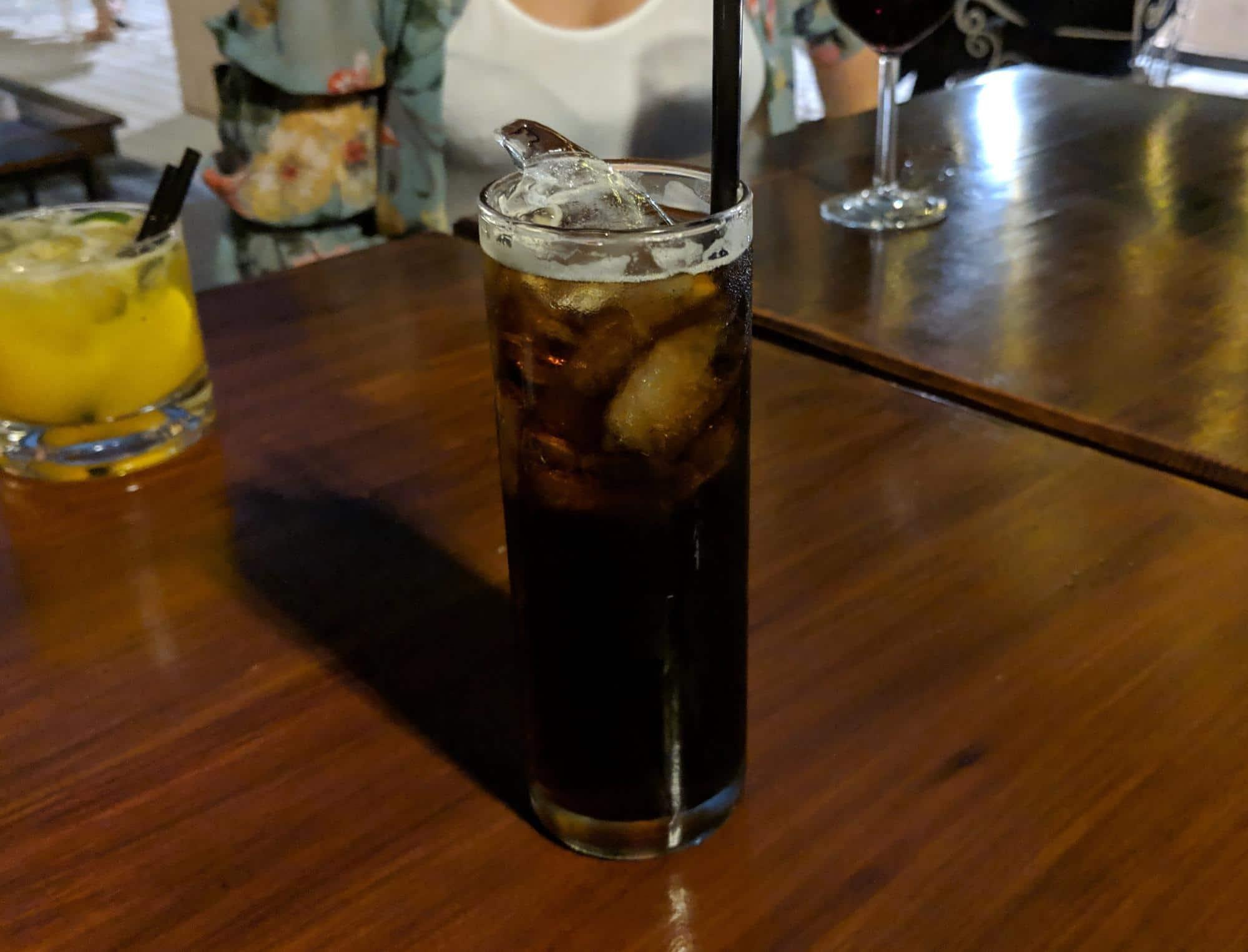 Fernet with Coke