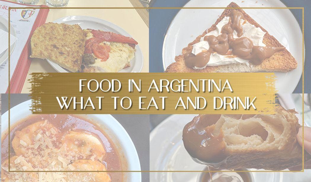 Food in Argentina main