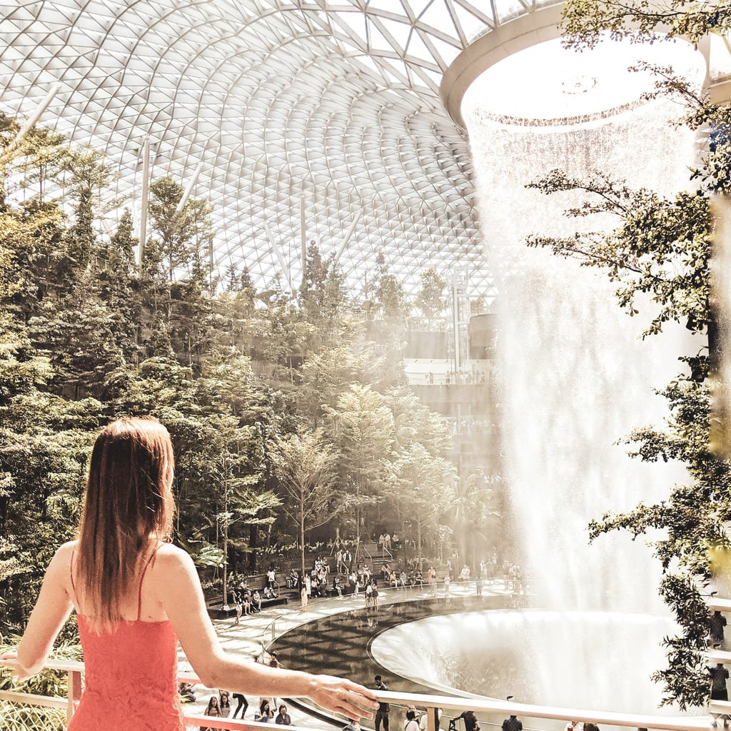 """Jewel Changi, one of the most instagrammable spots in Singapore"""