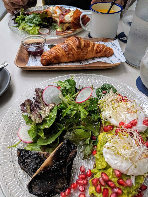 Merci Marcel Cafe food