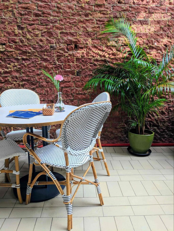 Merci Marcel Cafe interior