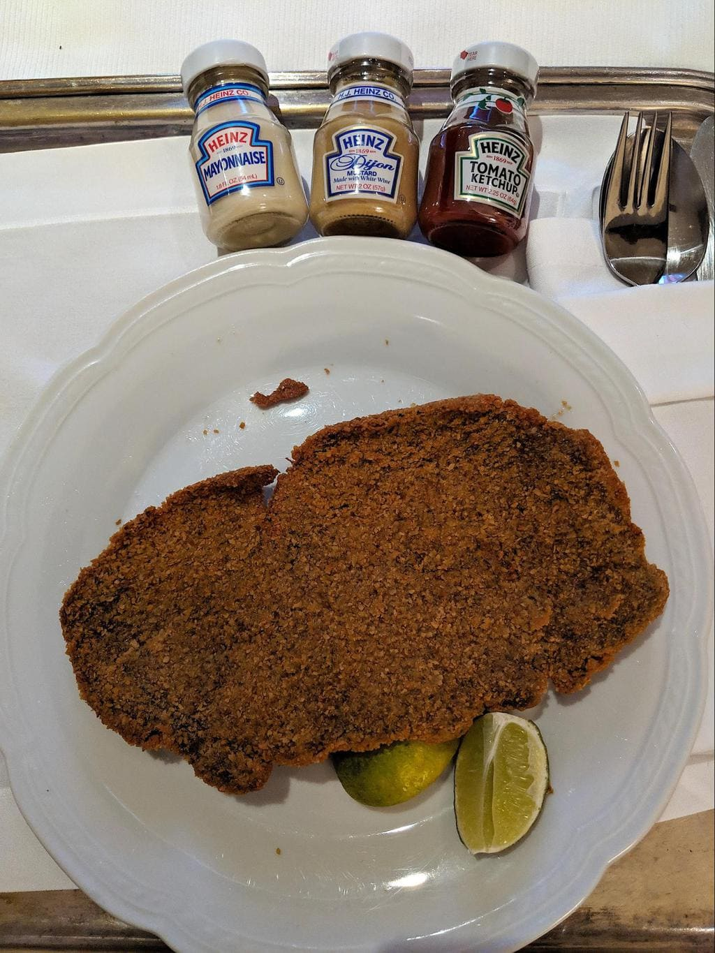 Milanesa from Argentina