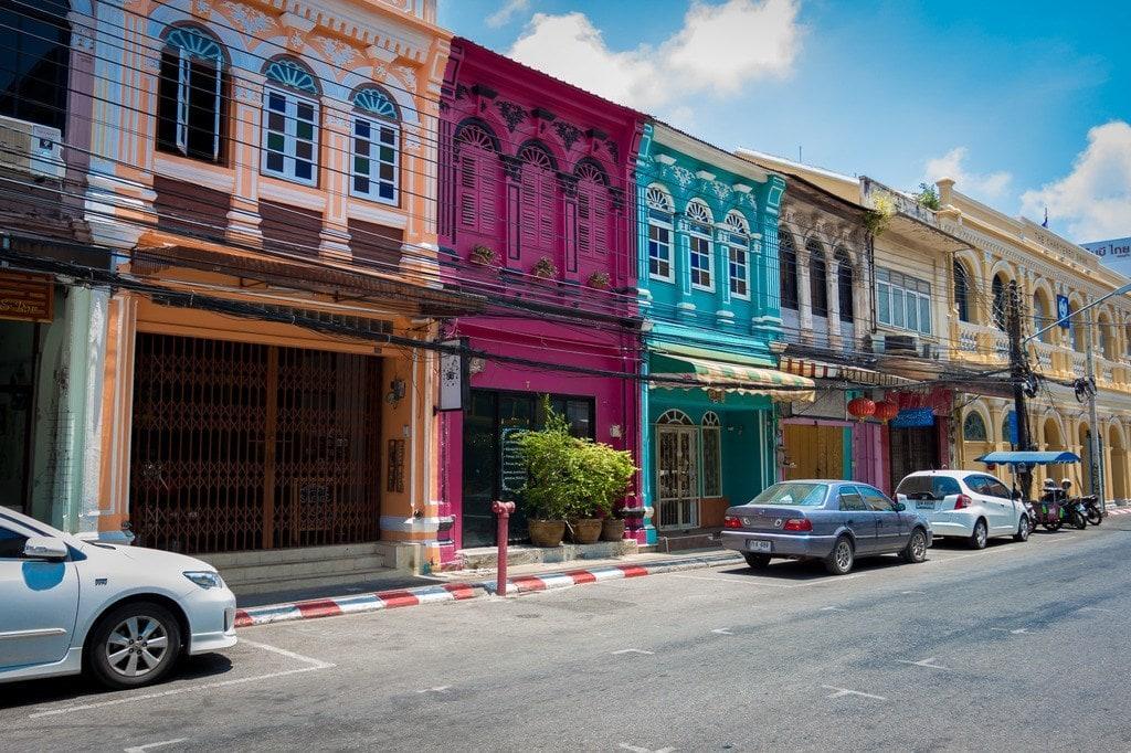 Soi Romanee in Old Tow Phuket