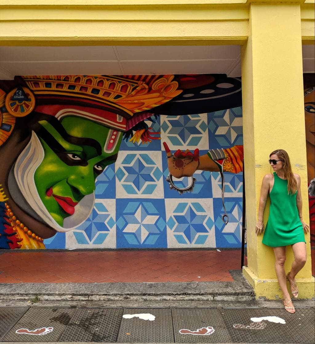 Street art on Little India