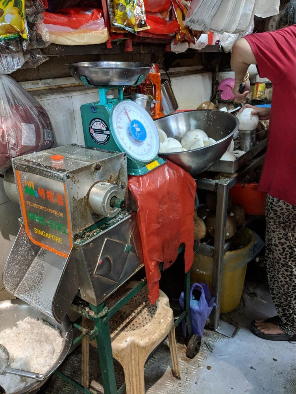 Tekka Market interior
