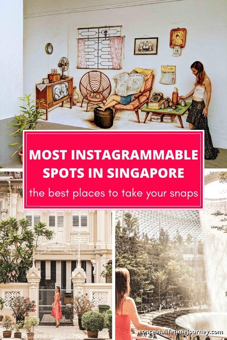The Most Instagrammable spots in Singapore