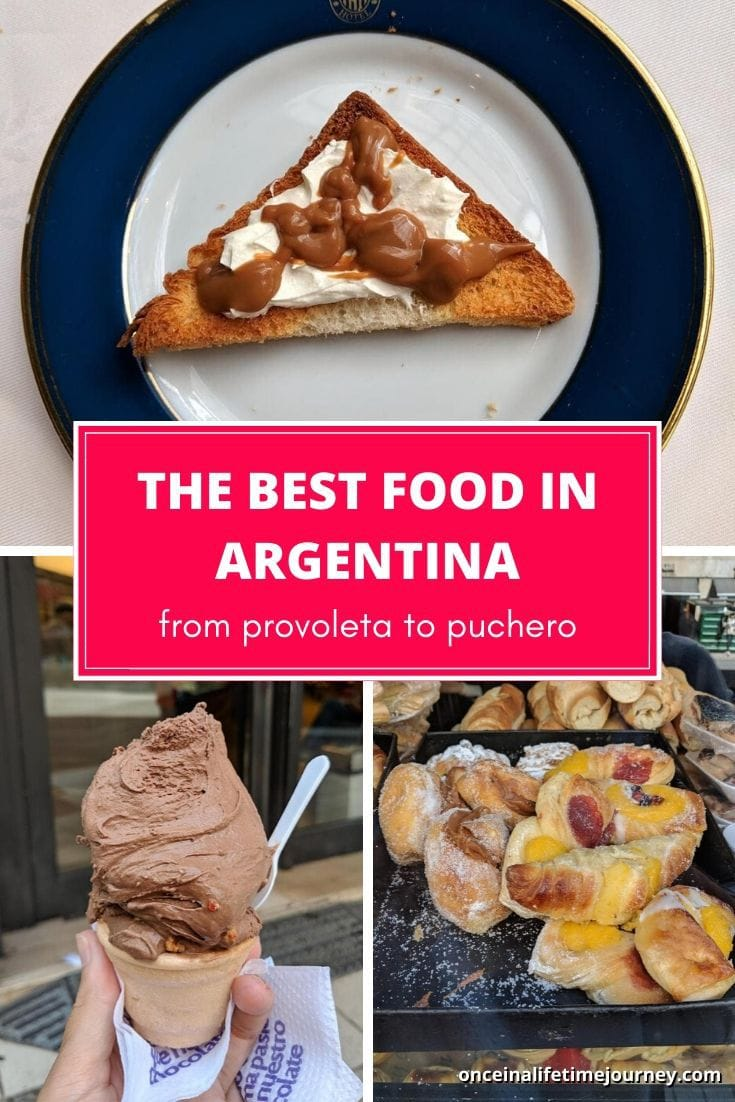 The best food in Argentina