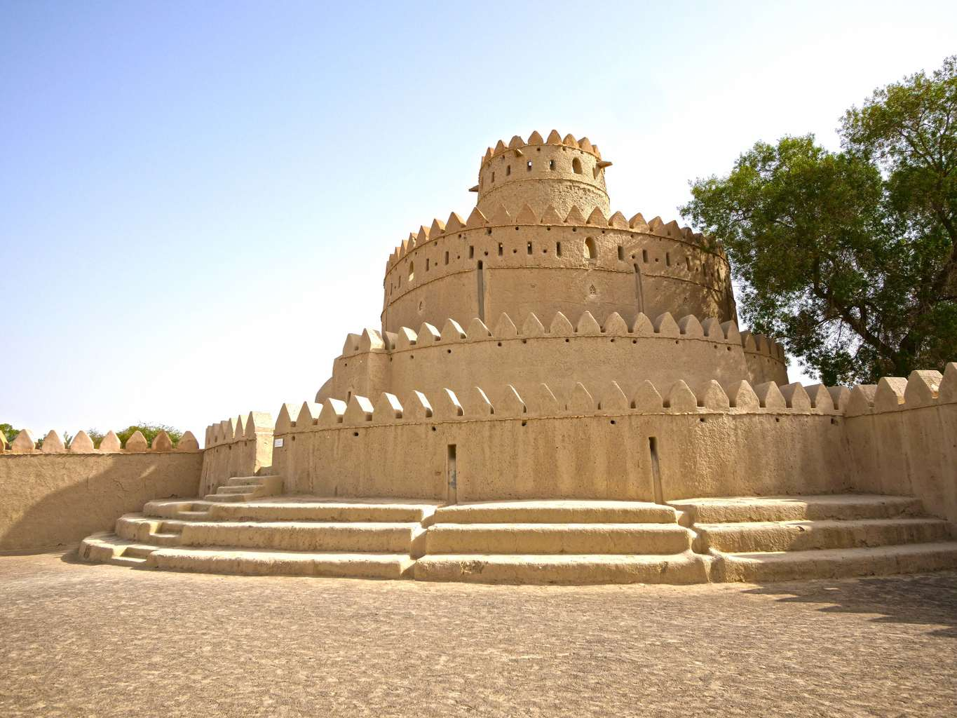 Al Jahili Fort building