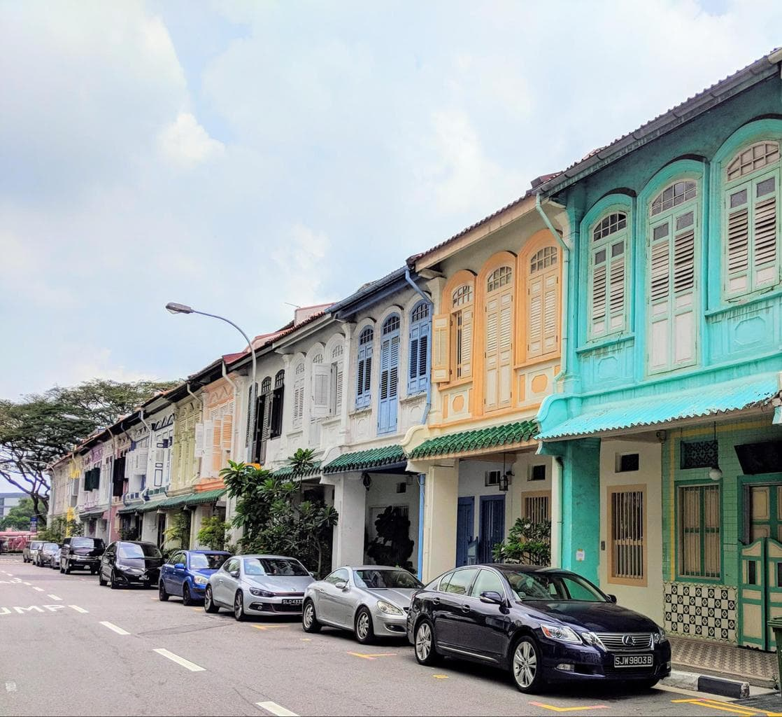 Blair Road shophouses