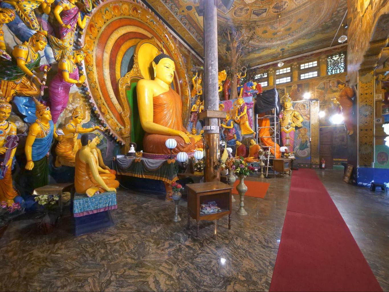Buddha at Gangaramaya Temple